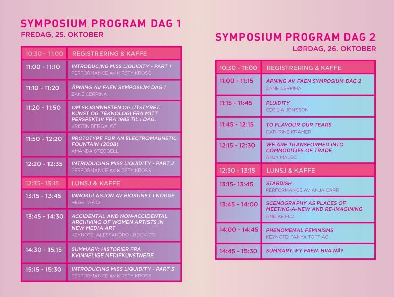 faen symposium program